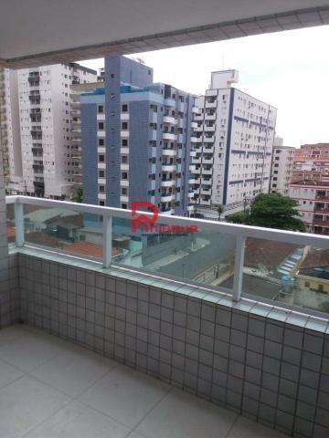 Apartamento para alugar com 2 dormitórios em Ocian, Praia grande cod:1088 - Foto 4