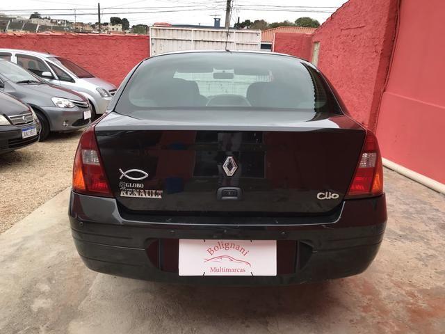Clio sedan 2003 1.6 RT completo - Foto 13