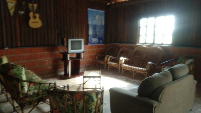 Chácara com Duas Casas rústicas (6 quartos), lado do Rio Palmital - Foto 5