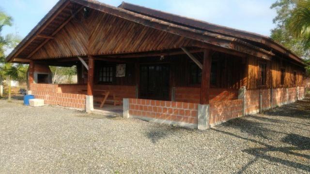 Chácara com Duas Casas rústicas (6 quartos), lado do Rio Palmital - Foto 6