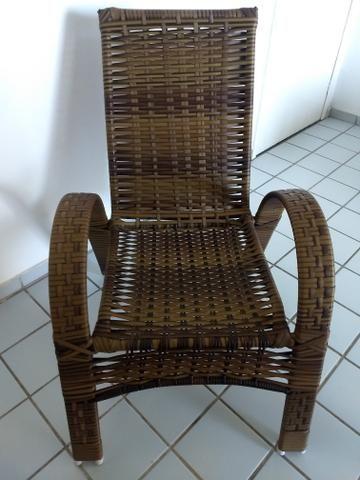 Kit Cadeiras Junco Sintético - Foto 3