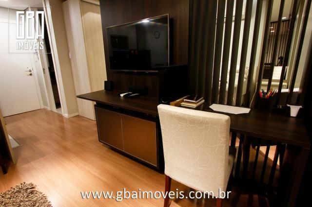 Studio Residence 100% mobiliado, 1 dorm, sacada e 1 vaga - Pelotas/RS - Foto 4