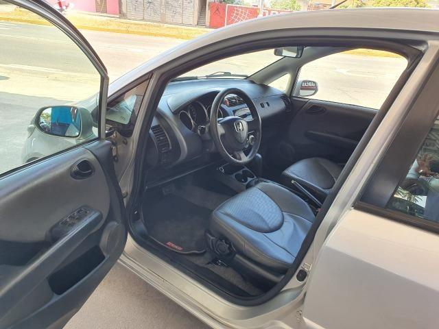 """Honda - Honda Fit LX 1.4 Automático, Flex, Completo, B. Couro, Revisado, Garantia, """"Extra"""" - Foto 4"""
