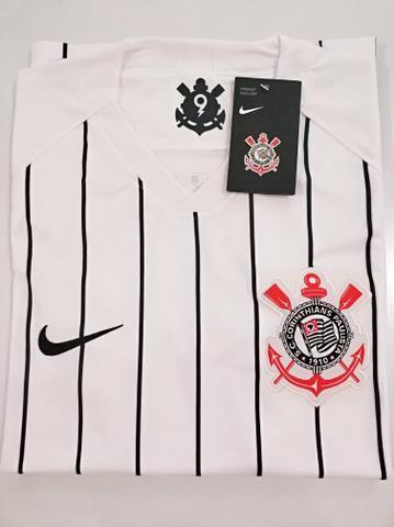 Camisa Corinthians Home 19/20 - Foto 2
