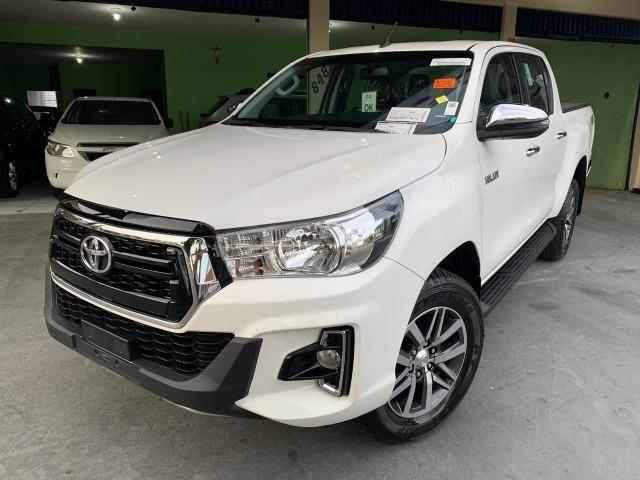Hilux SRV 2.8 Branca 4X4 Diesel 2020 0KM - Foto 2
