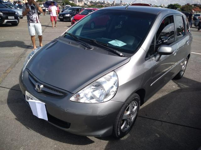 Honda Fit 2007/2008 Cinza - Foto 12