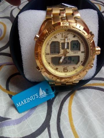 8e399c2da85 Relogio marinus na promoção - Bijouterias