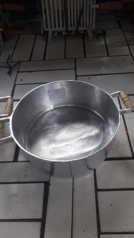 Panelas grande de alumínio batido - Foto 2