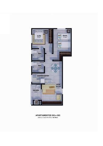 Apartamento parcelamento direto com a construtora sem juros Ingleses - Foto 3