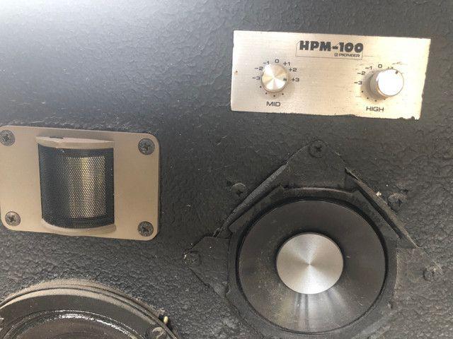 2 Caixa de Som Pioneer HPM-100 - Foto 2