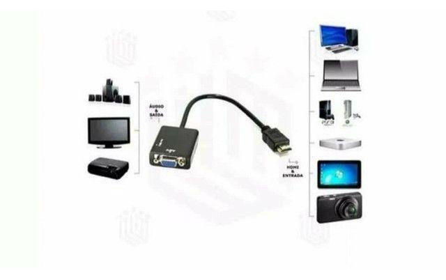 Adaptador Conversor HDMI para VGA - Foto 4