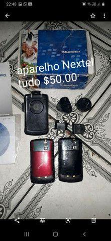 2 rádios nextel mais acessórios Tudo por $50.00 - Foto 2