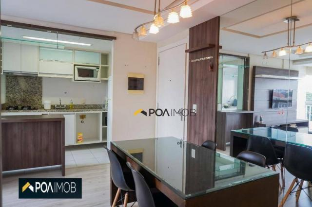 Apartamento com 2 dormitórios para alugar, 60 m² por R$ 2.652,00/mês - Cristo Redentor - P - Foto 12