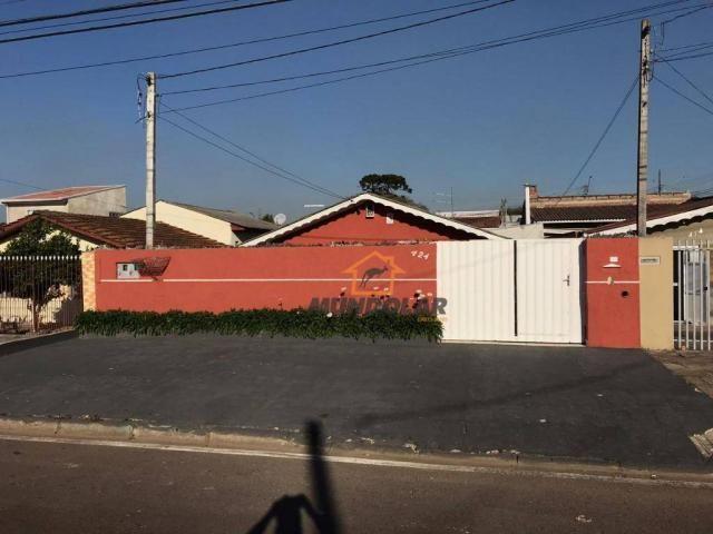 Casa com 3 dormitórios à venda, 80 m² por R$ 250.000,00 - Capela Velha - Araucária/PR