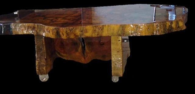 Mesa de centro de madeira resinada - Foto 3