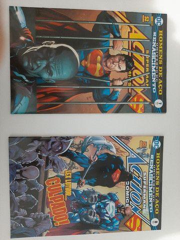 HQs DC Renascimento - Superman Action Comics edições de 1 a 8 - Foto 4