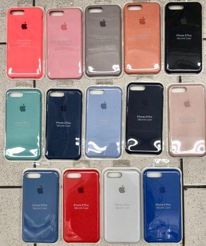 Capa Case IPhone 6 6plus 8 7 Plus Xs Max Xr 11 Pro Max Aveludada Original - Foto 4