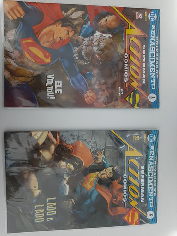 HQs DC Renascimento - Superman Action Comics edições de 1 a 8