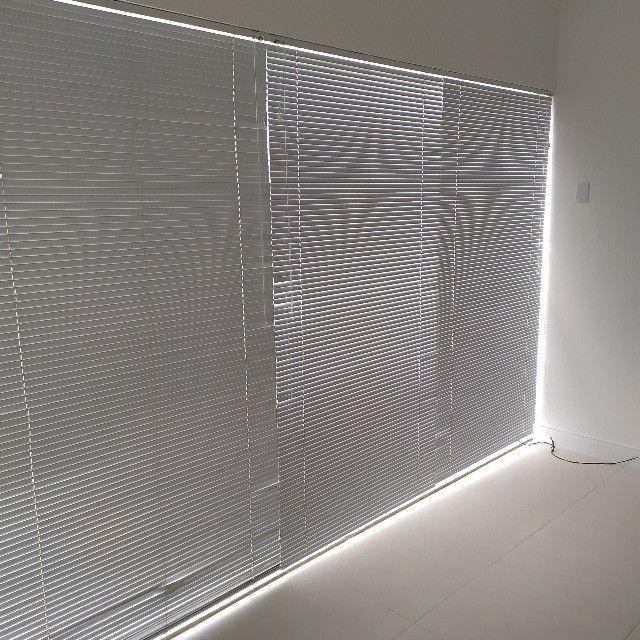 4 Persianas Horizontais Alumínio 2,14 x 1,12 m - Foto 3