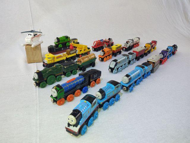 Thomas e seus amigos em madeira! - Foto 4