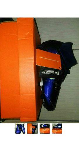 Chuteira Nike Jr. SuperFly 7 Academy MDS FG/MG. Infantil. BRL 36. ORIGINAL. - Foto 3