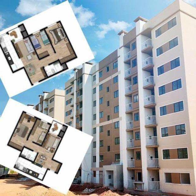 Apartamento + sacada gourmet + entrada facilitada + documentação inclusa  - Foto 2