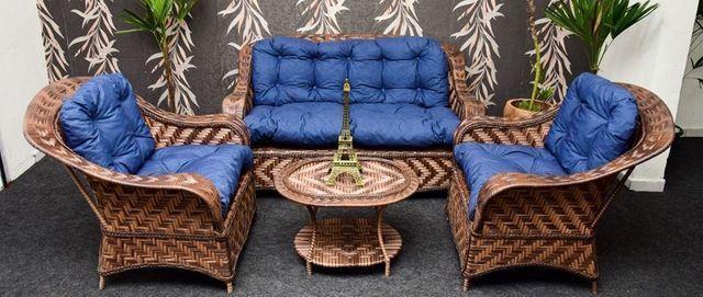 Conjunto de sofá portugal em fibra sintética