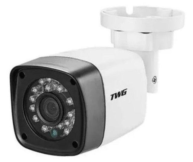 Câmera Bullet Lente 3.6mm Full Hd 1080p 2mp Ir 20 Metros