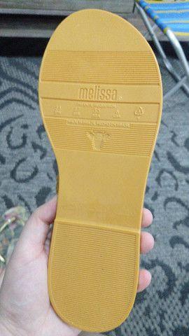 Melissa original nova se uso tamanho 35  - Foto 2