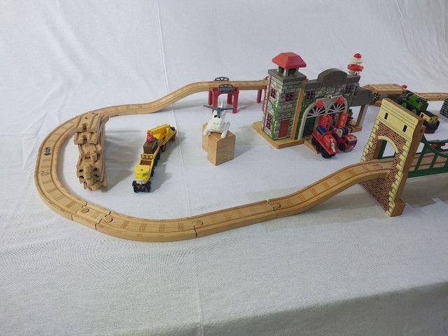 Thomas e seus amigos em madeira! - Foto 2