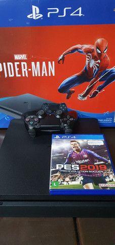 PS4 SLIN PRATICAMENTE SEM USO