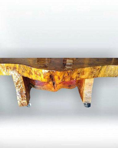 Mesa de centro de madeira resinada - Foto 4