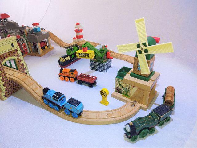 Thomas e seus amigos em madeira! - Foto 3