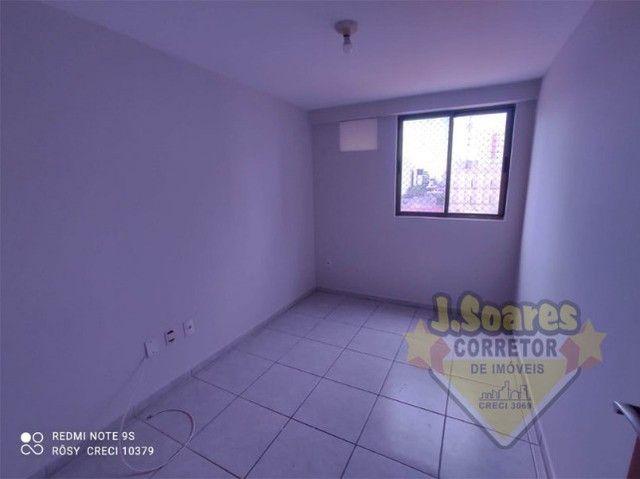 Tambaú, 3 quartos, 2 suítes, 100m², R$ 1.800, Aluguel, Apartamento, João Pessoa - Foto 9