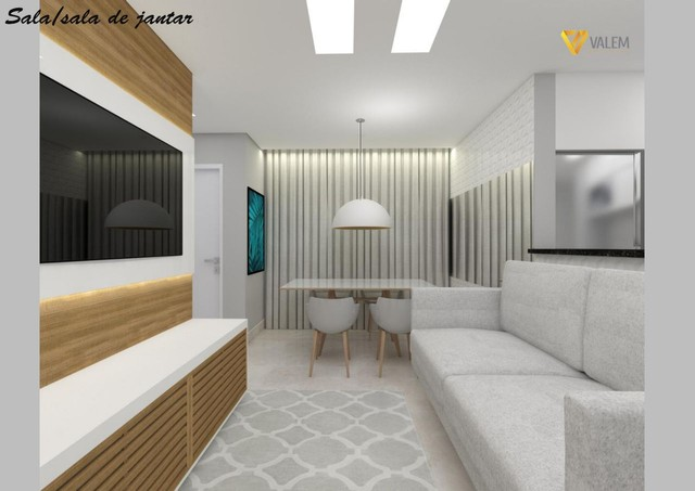 Apartamento com área privativa à venda, 2 quartos, 2 vagas, Santa Mônica - Belo Horizonte/ - Foto 4