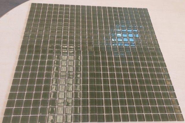 Pastilha de vidro 30x30 A089 Algas 2,5x2,5-Primeira Linha - Foto 5