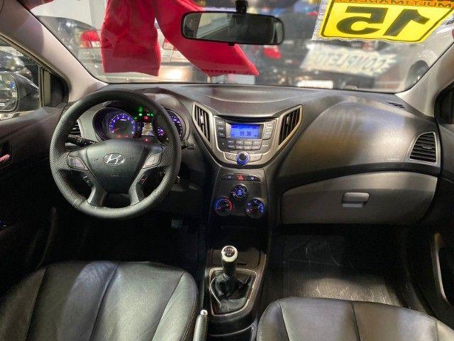 Hyundai Hb20 Sedan 2015 1.6 Flex Comfort Manual Preto Estudo Troca E Financio - Foto 9