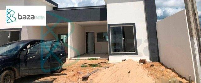Casa com 3 dormitórios sendo 1 suíte à venda, 115 m² por R$ 350.000 - Residencial Paris -