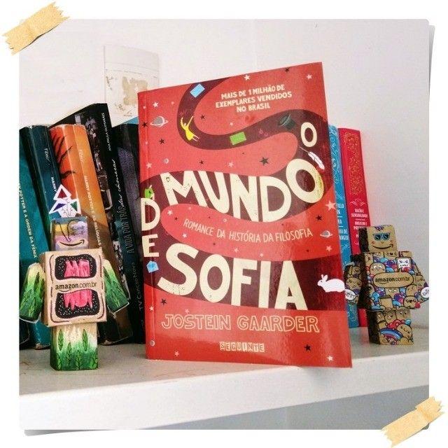 Livro O mundo De sofia - Foto 2