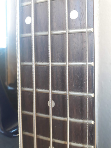 Bass Art Guitars 5C Ativo parcelo no cartão ML avalio trocas - Foto 5