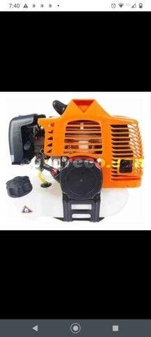 Roçadeira a Gasolina 2 em 1 - 52cc 2 Tempos<br>Brush Cutter. - Foto 4