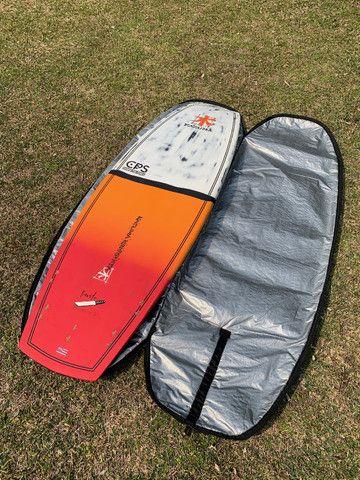 SUP Wave Hawaiano Kazuma 7?6? Carbono Stand Up Paddle ZERO! - Foto 2