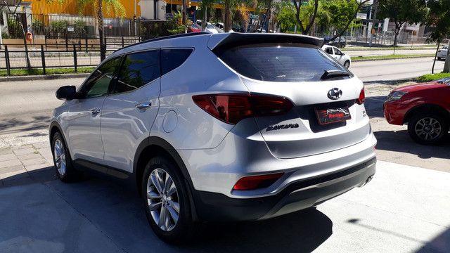 Hyundai Santa Fé 3.3 V6 2018 Top Linha 07 Lugares Impecável - Foto 4