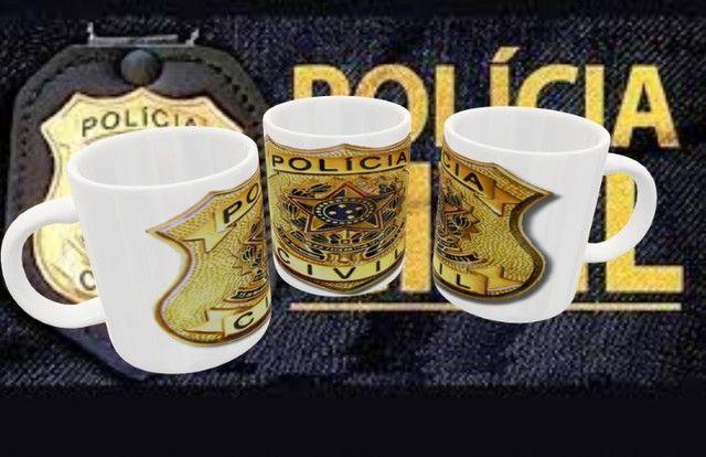 Caneca Polícia Civil