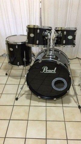 bateria pearl soundcheck - Foto 2