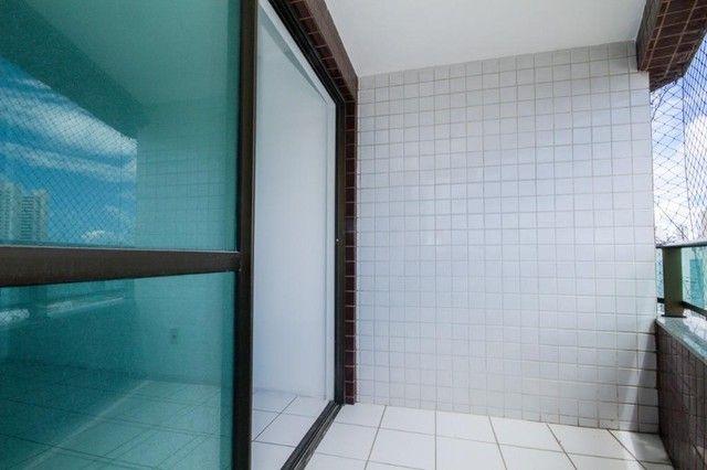 Apartamento com 3 quartos para alugar, 94 m² por R$ 3.385/mês com taxas - Boa Viagem - Rec - Foto 5