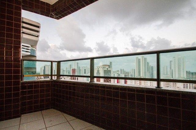 Apartamento com 3 quartos para alugar, 94 m² por R$ 3.685/mês - Boa Viagem - Recife/PE - Foto 4