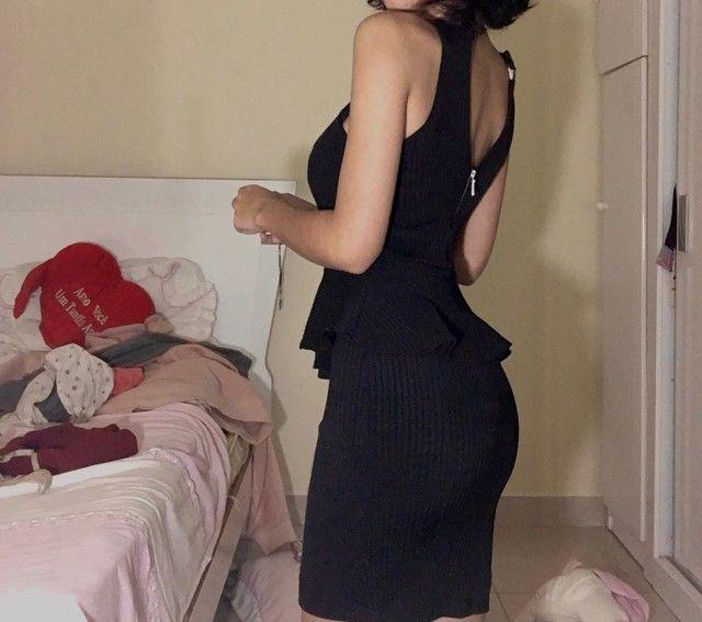 vestido preto tubinho novo  - Foto 2