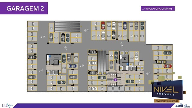 Apartamento com 2 dormitórios à venda, 67 m² por R$ 444.603 - Setor Oeste - Goiânia/GO - Foto 13