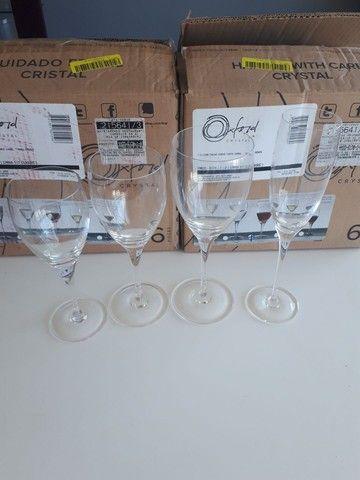 Taças em cristal oxford  - Foto 3